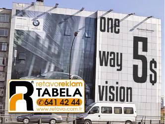 One Way Vision Fiyatları